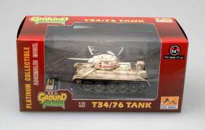 Die Cast Tank T-34/76 Russian Army Easy Model 36269 in 1-72