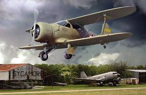 Model Roden 442 Beechcraft UC-43 Traveller Mk. I