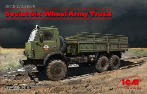 Model ICM 35001 Soviet Six-Wheel Army Truck