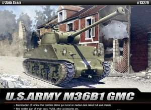 U.S.Army M36B1 GMC model Academy 13279 in 1-35