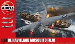 Model De Havilland Mosquito FB.VI 1-24 model Airfix 25001