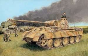 Tank model Sdkfz. 171 Panther D Dragon 6164