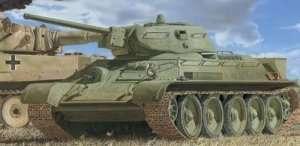 Tank T-34/76 No.112 Factory Krasnoe Sormovo in scale 1-35 Dragon 6479