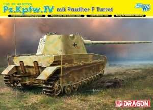 Pz.Kpfw.IV mit Panther F Turret in scale 1-35