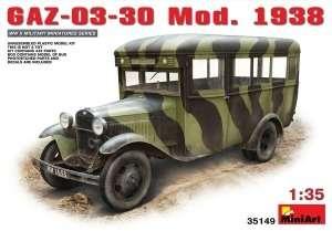 GAZ-03-30 Mod.1938 in 1:35 MiniArt 35149