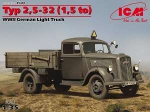 Typ 2,5-32 German Light Truck in scale 1-35 ICM 35401