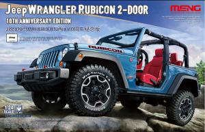 Model Meng CS003 Jeep Wrangler Rubicon 2-door 10th Anniversary Edition