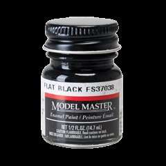 Paint Flat Black FS37038 - Model Master 1749