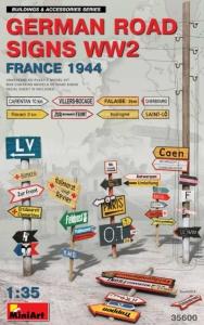 Model MiniArt 35600 German Road Signs WWII (France1944)