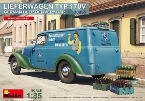 Model MiniArt 38035 Lieferwagen Typ 170V German BeerCar