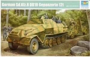 German Sd.Kfz. 8 DB10 Gepanzerte 12t Trumpeter 01584