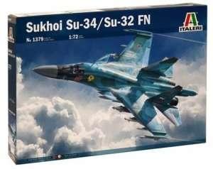 Model Sukhoi Su-34/ SU-32FN Italeri 1379