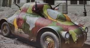 WWII Skoda PA-II Turtle in scale 1-35 Takom 2024