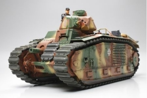 Model Tamiya 35287 heavy tank B1 bis German Army