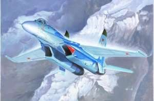 Russian Su-27 Flanker B Fighter in scale 1-72 Trumpeter 01660