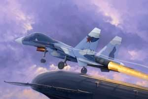 Model Trumpeter 01669 Samolot Su-33UB Flanker D