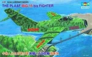 Model fighter Mig-15 bis 1-32 Trumpeter 02204