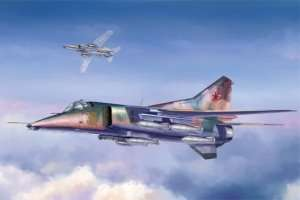 Mig-27 Flogger D in scale 1-48 Trumpeter 05802