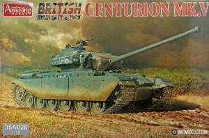 Tank model Centurion MK 5 Amusing Hobby 35A028
