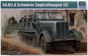 German Sd.Kfz. 8 12 Ton heavy halftrack
