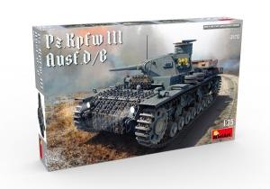 Model MiniArt 35213 tank PzKpfw III Ausf.D/B