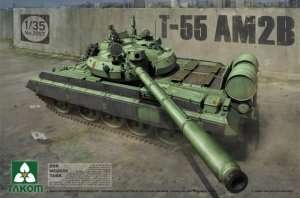 Takom 2057 - T-55 AM2B in scale 1-35