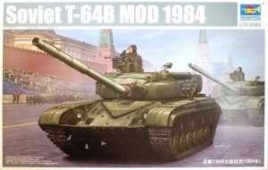 Tank model T-64b 1984 Trumpeter 05521