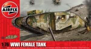 WWI Female Tank scale 1:76