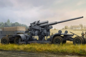 Model German 12,8cm Flak 40 Hobby Boss 84545