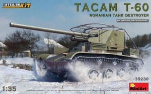 Model MiniArt 35230 TacamT-60 Roman.tank destroy.inter