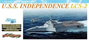 Model Dragon 7092 U.S.S. Independence LCS-2 (Smart Kit)