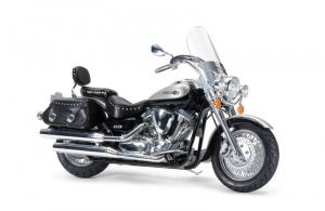 Yamaha XV1600 RoadStar Custom model Tamiya 14135 in 1-12