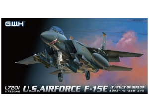 Model Lion Roar L7201 USAF F-15E In action of OEF & OIF