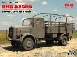 KHD A3000 WWII German Truck ICM 35454 in 1-35