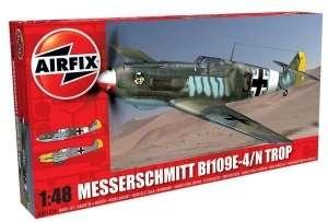 Niemiecki myśliwiec Messerschmitt Bf109E-4/N Tropical Airifix 05122A