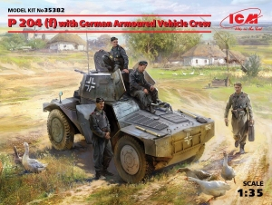 Model P 204 (f) with German Armoured Vehicle Crew ICM 35382
