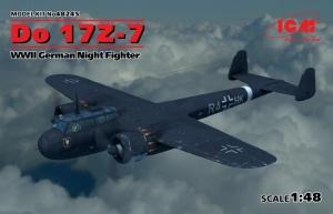 German Night Fighter Do 17Z-7 model ICM 48245 in 1-48
