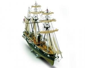 Okręt Alabama Mamoli MV53 drewniany model statku 1-120