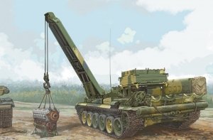 Russian BREM-1 Armored Recovery Vehicle Trumpeter 09553