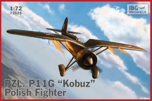 PZL. P.11G Kobuz Polish Fighter model IBG 72523