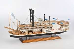 Steamboat Robert E.Lee - Amati 1439 - wooden ship model kit
