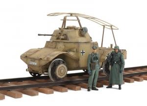 German Armored Railway Vehicle P204(f) Tamiya 32413