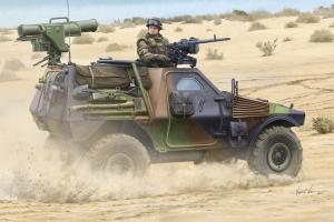Model Hobby Boss 83877 French VBL Milan armor car