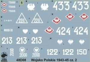 Polish Army 1943-45 vol. 2 - 48D08 in scale 1-48