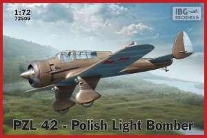 PZL 42 Polish Light Bomber model IBG 72509 in 1-72