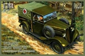Polish Fiat 508/III Ambulance IBG 72010