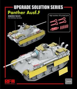 RFM 2008 Dodatki do czołgu Panther Ausf.F skala 1-35