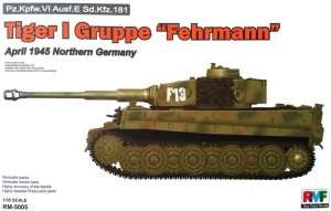 RFM RM-5005 Tiger I Gruppe Fehrmann April 1945 Northern Germany