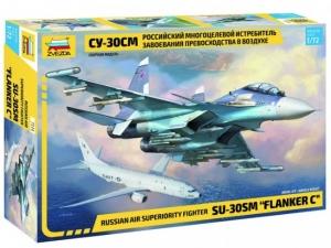 Model Sukhoi Su-30SM Flanker-H Zvezda 7314