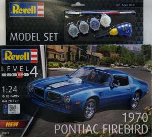 Model set Pontiac Firebird 1970 1-24 Revell 67672